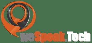 logo we speak tech